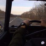 «Спасибо, что без мата»: автолюбитель снял на видео встречу с тигром