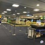 Полуголый нетрезвый россиянин устроил разборки с охраной аэропорта