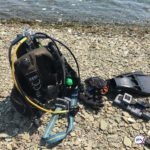 Груз потянул вниз: чудесное спасение дайвера во Владивостоке попало на видео