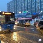 Один из автобусов меняет свой маршрут