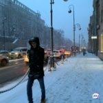 Новый циклон: как Владивосток встретил снегопад