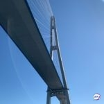 «Страшно заезжать на него»: что случилось с Золотым мостом во Владивостоке
