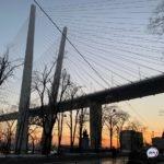 Движение по одной из полос на мосту могут ограничить