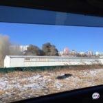 «Жуть»: клубы чёрного дыма поднялись над городом