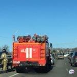 Полиция, пожарные, две скорых: что  случилось недалеко от «Фетисов арены»