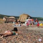 «С этим климатом уже ничему удивляться нельзя»: кого встретили на пляже отдыхающие