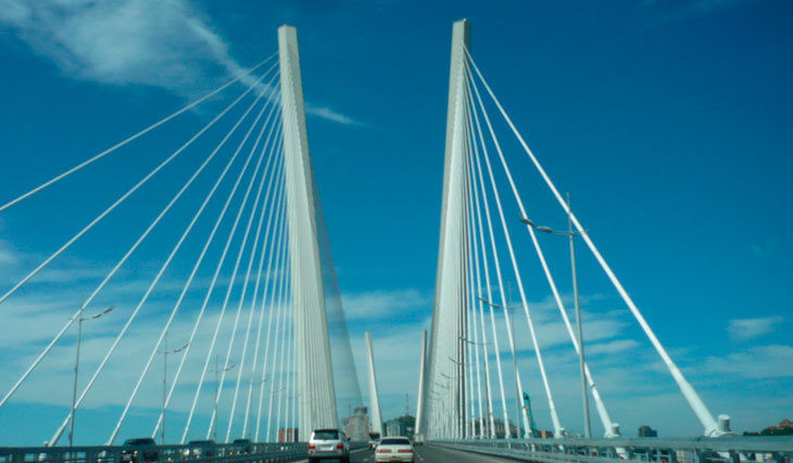 лед на «Золотом мосту»