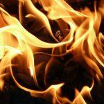 Пожар в жилом доме чуть не закончился трагедией