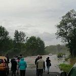 Видео: ещё одну трассу перекрыла «большая вода»
