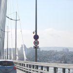 """Банальная невнимательность привела к ДТП на """"Золотом мосту"""""""