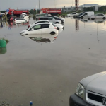 Международный аэропорт ушёл по воду из-за дождя