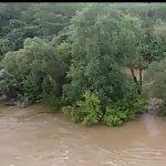 Видео: вода серьёзно подтопила железнодорожную станцию