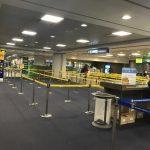Международный аэропорт отменил все рейсы