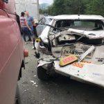 Пассажир не доехал: массовая авария собирает огромную пробку
