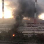 """""""Армагеддон какой-то"""": пламя бушует в районе ТЭЦ"""