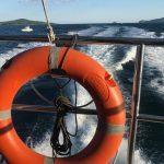 Моряки заблокированы: грузовое судно перевернулось недалеко от берега