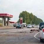 Массовое ДТП: один водитель и три разбитых машины