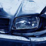 Пожилой водитель подставил автомобиль под удар