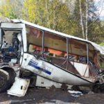 Разбился пассажирский автобус: есть жертвы