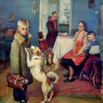 Знаменитую картину привезли во Владивосток