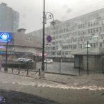 Автомобильные дороги затопило в столице ДФО