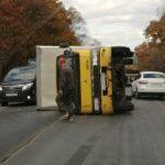Загородную дорогу перекрыло серьезное ДТП