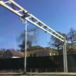 """""""Там ведь жилые дома"""": густой черный дым замечен в пригороде"""