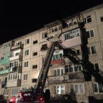 Появилось видео с места взрыва жилого дома в Приморье