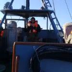 Видео: пропавших рыбаков ищут на море