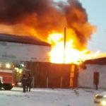 Подробности крупного пожара раскрыли в МЧС