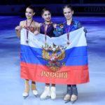 Российский фигуристки триумфально выступили в финале Гран-при