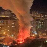 Пожар уничтожил двухтажный дом в Благовещенске