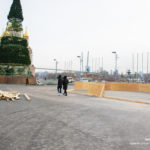 Главную новогоднюю ёлку монтируют в столице