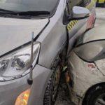 Упрямство водителя привело к столкновению авто