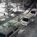 Полицейские задержали автомобильного вандала