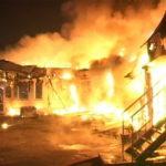 Всё в огне: крупный пожар произошел в городе