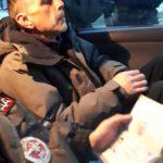 Водитель устроил ДТП около здания полиции