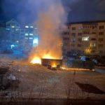 «Экологически чистая утилизация»: пожар разгорелся у жилых домов