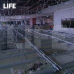 «Крыша поехала». В аэропорту рухнул потолок