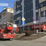 Работала сотня спасателей: телецентр едва не сгорел во Владивостоке