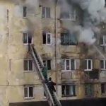 Чёрный густой дым: в Приморье горит квартира