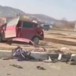 «Машины разорвало»: жесткая авария спровоцировала пробку