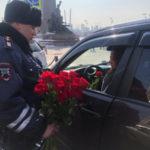 Женщин за рулем приятно удивили в городе