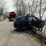 В жуткое ДТП попала женщина за рулем автомобиля