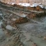 """""""Вся работа нашей администрации"""": жители села утопают в грязи"""