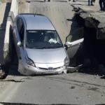 Движение перекрыто: мост обрушился в Приморье