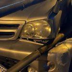 Пока ты спал: лихая молодежь устроила «сюрприз» трем автолюбителям