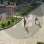 Решил  прогуляться: погоня Росгвардии за пациентом попала на видео