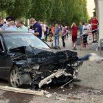 Маневр с трагичными последствиями: участковый сбил людей на тротуаре
