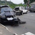 «Несся,  как сумасшедший»: жесткая авария собрала несколько авто